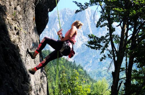 Gesäusse lezecké cesty
